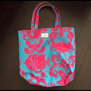 Lily Pulitzer Pink Tote